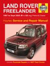 Haynes Workshop Manual Land Rover Freelander Petrol & Diesel (1997 to Sept 03) R to 53 reg